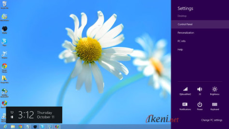 Desktop Windows 8 Setting