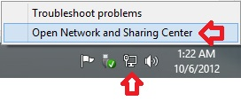 File and Printer Sharing Network Icon