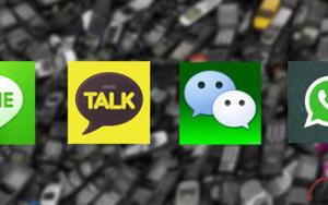 Perbandingan Kakao Talk, Line, WhatsApp dan Wechat