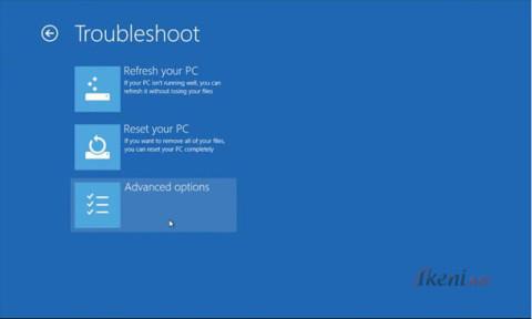 Windows 8 Troubleshoot