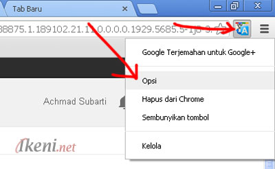 Chrome Google Plu Translate
