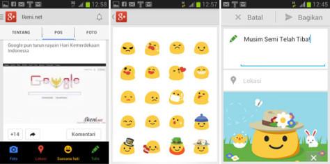 Google Plus Mobile Suasana Hati