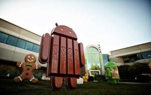 Logo Patung Android KitKat