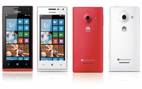 Huawei smartphone wp8
