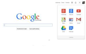 Logo dan Navigasi Bar Baru Google