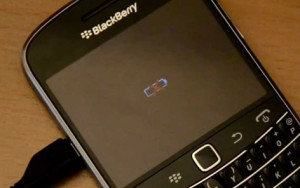 Baterai BlackBerry Error Tanda Silang Merah