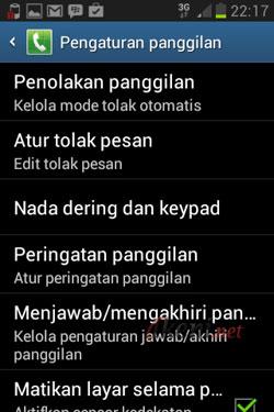 Blokir Panggilan di Android 2