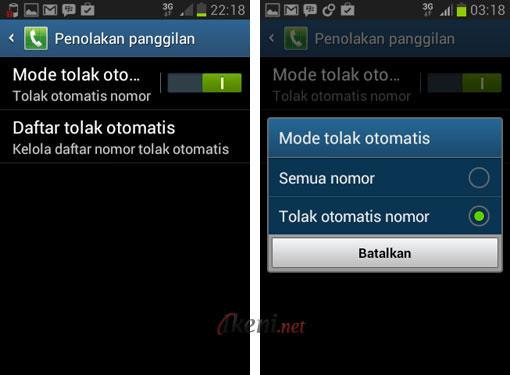 Blokir Panggilan di Android 3