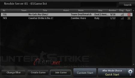 CSO Game List