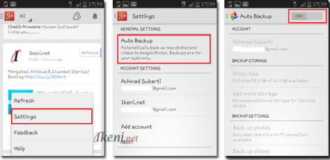 Google Plus Auto Backup