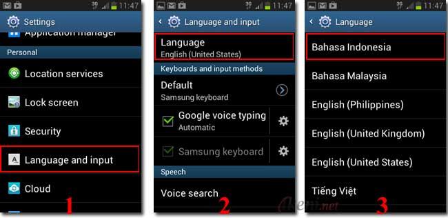 Cara Mengubah Bahasa di Android