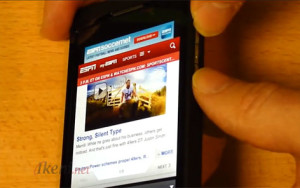 Screen Capture BlackBerry 10