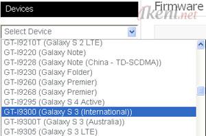 Stock ROM Firmware Samsung