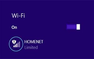 Windows 8.1 WiFi Limited