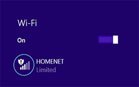 Windows 8.1 WiFi Limited