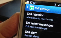 Samsung GS4 Call rejection