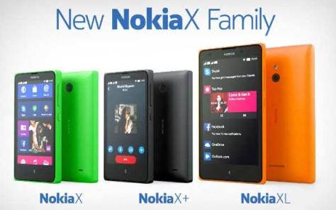 Nokia X, X +, XL