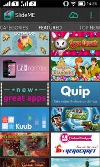 Android Store SlideMe Market