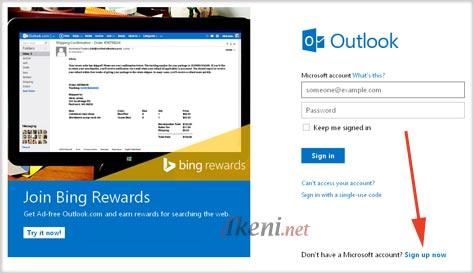 Membuat Akun Microsoft 1