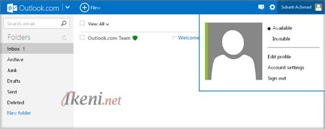 Outlook Windows Live ID