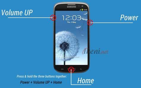 Recovery Mode Samsung Galaxy