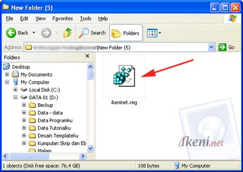 Run Registry File Windows XP