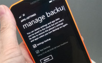 Windows Phone 8.1 Backup Restore