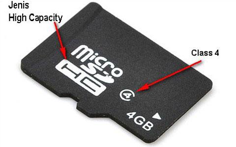 contoh micro sdhc standar
