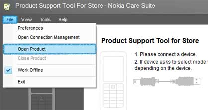 Flashing Nokia Care Suite 2