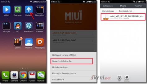 MIUI Update Xiaomi 1