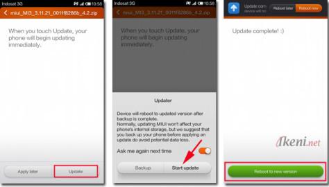 MIUI Update Xiaomi 2