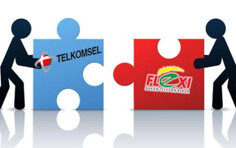 Telkom Flexi ke Telkomsel
