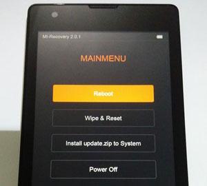 Mi Recovery Xiaomi Redmi 1S