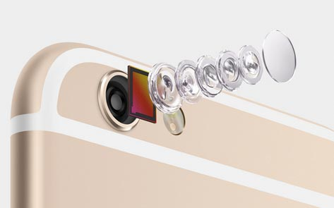 Optical image stabilization iPhone 6 plus