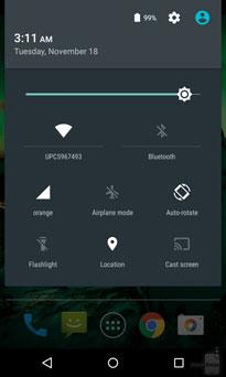 Android Lollipop Pengaturan Cepat
