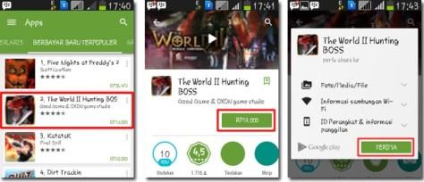 Beli Aplikasi Android
