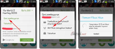 Beli Aplikasi Android Pake Pulsa