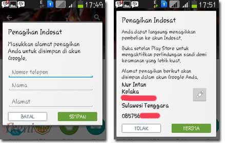 Beli Aplikasi Android Pake-Pulsa Indosat