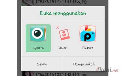 Default Apps Untuk Selalu Buka Foto