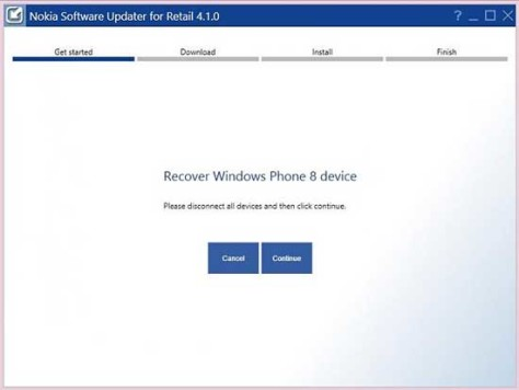 Recovery Brick Windows Phone 1