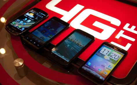 Smartphone 4G-LTE