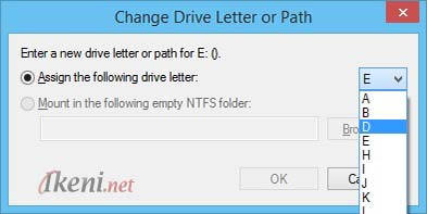 Change Driver Letter or Path Windows