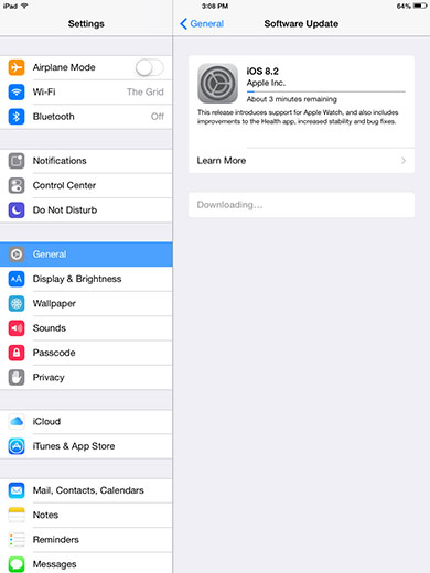 Download OTA Update iOS