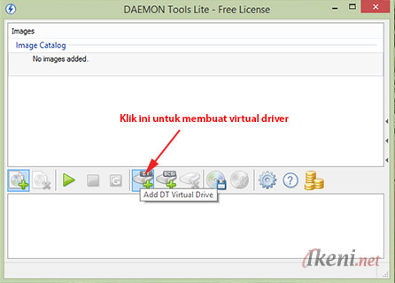 Add Virtual Drive Daemon Tools