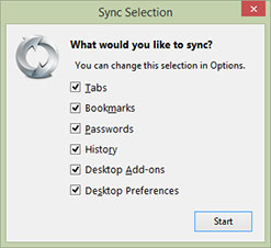 Firefox Sync [gbr 4]