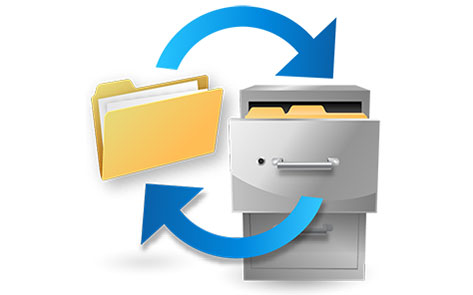Logo Backup dan Restore Data