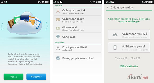 O-Cloud: Backup Restore ColorOS OPPO