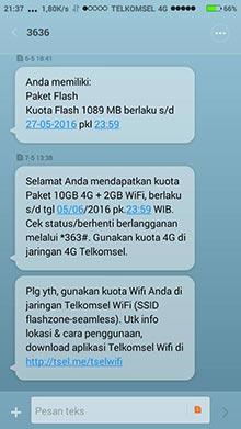 Gratis Paket Internet 10GB 4G LTE Telkomsel