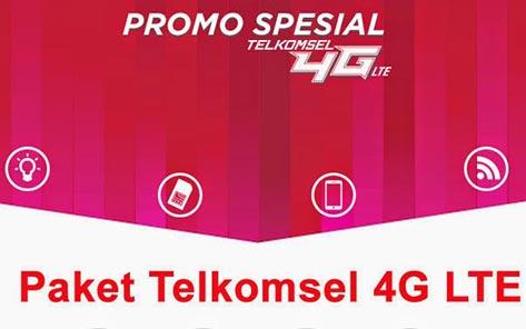 Paket Promo Internet 4G-LTE Telkomsel