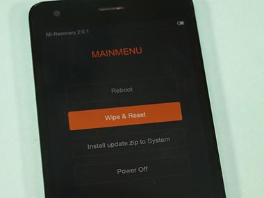 Xiaomi Redmi 2 Prime Wipe